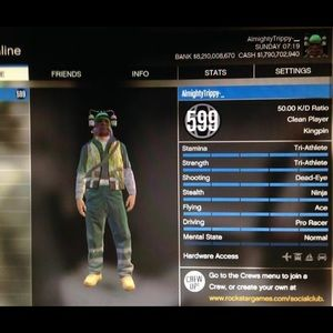 Gta V Modded Account Read description